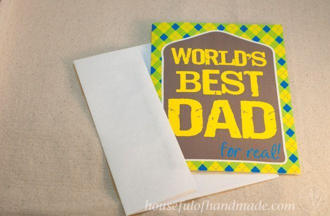 """<p>If your dad is truly the best (for real!), then this sweet argyle-patterned card serves as the perfect reminder. </p><p><strong><em>Get the printable at <a href=""""https://housefulofhandmade.com/free-printable-fathers-day-card-tags/"""" rel=""""nofollow noopener"""" target=""""_blank"""" data-ylk=""""slk:Houseful of Homemade"""" class=""""link rapid-noclick-resp"""">Houseful of Homemade</a>. </em></strong></p>"""
