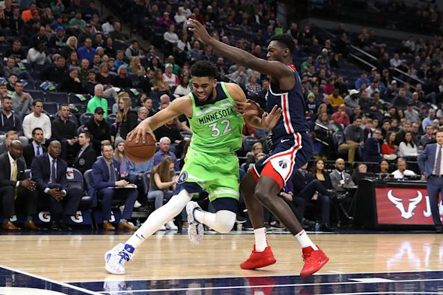 Report Karl Anthony Towns Knee Injury Not Serious
