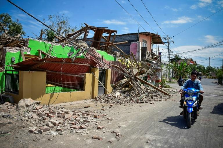 Aid agencies are concerned that food and water supplies may be insufficient for those affected by the quakes