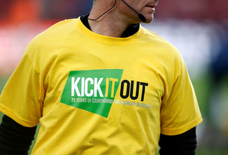 Reports of discrimination in football rose by 42%, says Kick It Out