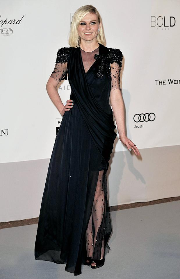 "Although a risk taker, Kristen Dunst looked a tad frumpy in her mature Fall 2009 Chanel Couture gown. Dominique Charriau/<a href=""http://www.wireimage.com"" target=""new"">WireImage.com</a> - May 20, 2010"