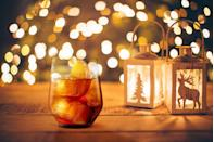 <p>Pour 60ml of Cream Sherry and 140ml of ice tea into a tumbler with ice. Garnish with a slice of orange.</p>