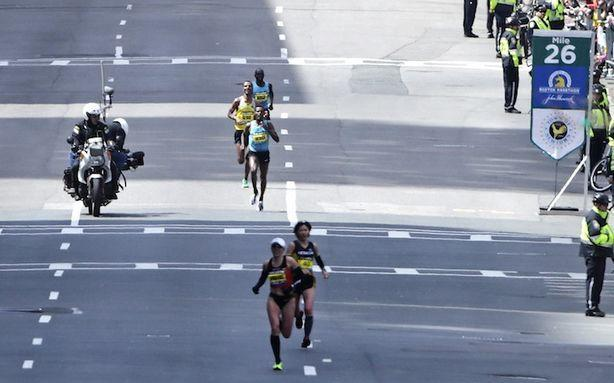 The Boston Marathon's Final Mile Was Dedicated to Newtown Victims