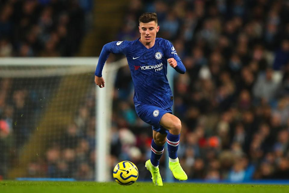 <strong>11 - Mason Mount</strong> (20 ans), Angleterre/Chelsea.