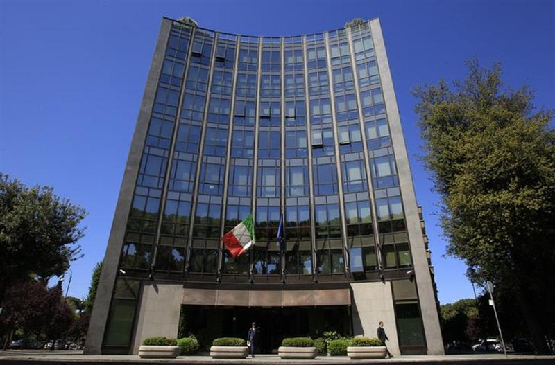 The headquarters of Italian defence and aerospace company Finmeccanica is seen in Rome May 3, 2012. REUTERS/Max Rossi.Files
