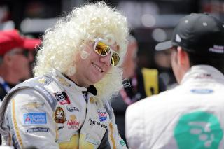 Tyler Reddick honors Dolly in his unique way at Bristol (Donald Page/Getty Images).