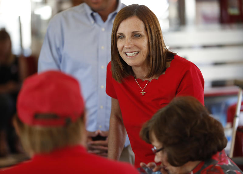 Sinema widens lead over McSally