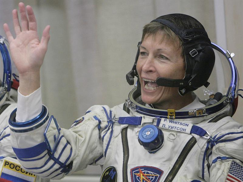 Peggy Whitson, who holds records for the most spacewalks carried out by a woman astronaut: Getty