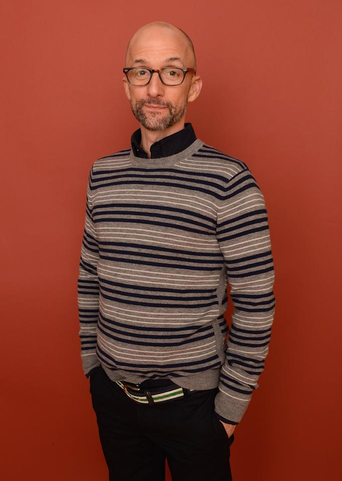 PARK CITY, UT - JANUARY 22:  Actor/filmmaker Jim Rash poses for a portrait during the 2013 Sundance Film Festival at the Getty Images Portrait Studio at Village at the Lift on January 22, 2013 in Park City, Utah.  (Photo by Larry Busacca/Getty Images)