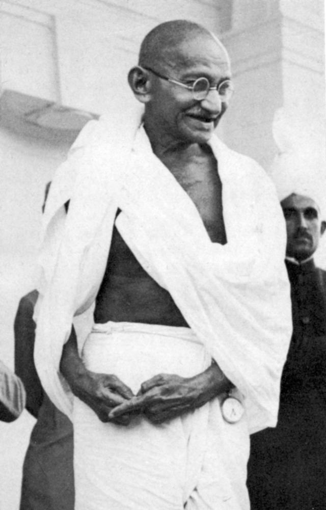 Mohondas Karamchand Gandhi (1869-1948), known as Mahatma (Great Soul), Indian Nationalist leader. (Photo by Ann Ronan Pictures/Print Collector/Getty Images)