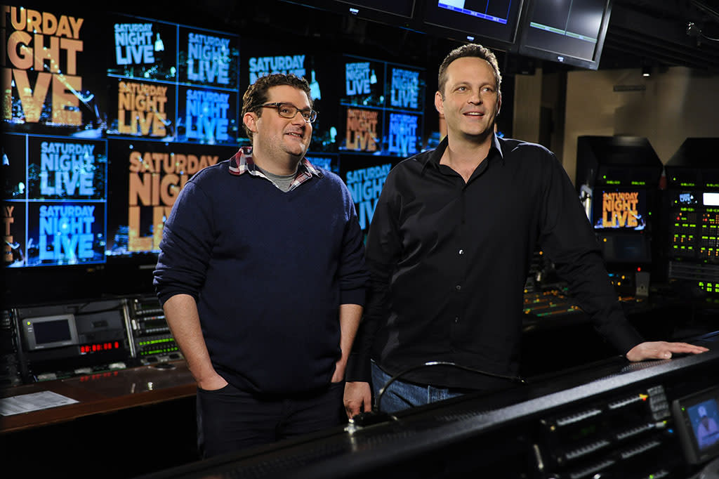 "Vince Vaughn hosts the eighteenth episode of ""Saturday Night Live"" Season 38."