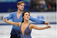"""<p><strong>Age: </strong>25</p><p><strong>Hometown:</strong> Novi, MI</p><p><strong>Event: </strong>Ice Dancing</p><p>Watching Madison Chock gracefully twirl, flip and twist around an ice rink, it's immediately clear how flexible and strong she must be to skate with such power. Chock trains alongside her ice dancing partner (and romantic partner), Evan Bates, and the pair even cook their meals together at home. """"It's really nice that we're a couple and we have time to be together. When we're preparing for a competition, we take moments throughout the week for just the two of us to connect and sync up,"""" says Chock.</p>"""