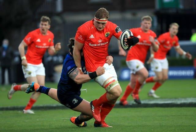 Munster's Gavin Coombes is among 11 uncapped players in Ireland's squad for their summer Tests