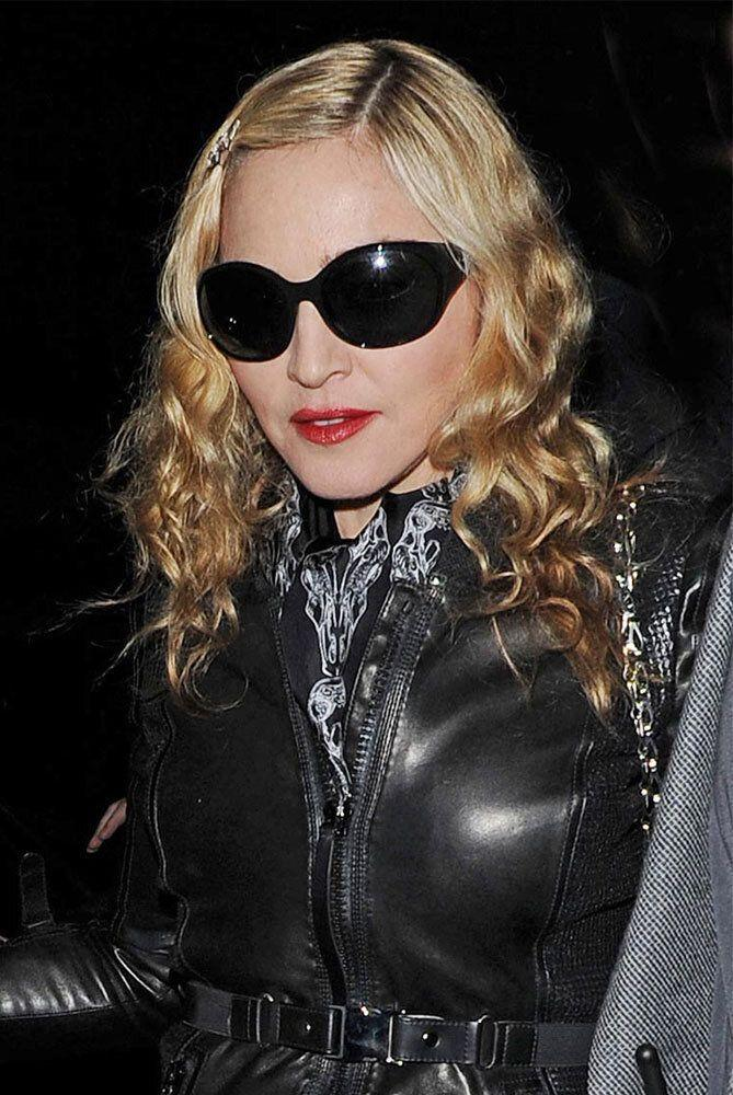 In a bid to prevent her bony bum-prints turning up on eBay, Madonna is said to demand a brand new toilet seat at every concert she plays before having it smashed to bits after use. She also requires three candles to protect her from bad vibes, possibly from those who've forked out £120 to hear her eschewing classics like Holiday for her cover of American Pie. Bauer Griffin