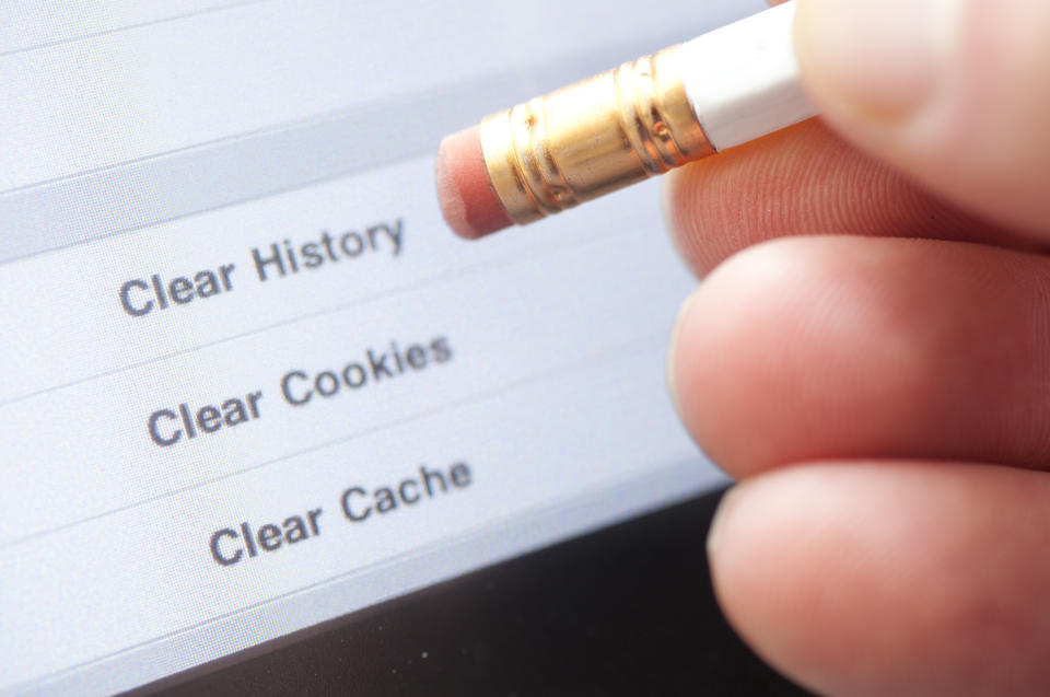 Slow computer? Might be time to clear your cache. (Photo: Getty)