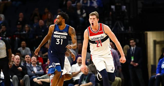 Moritz Wagner made history in the Wizards win over the Timberwolves