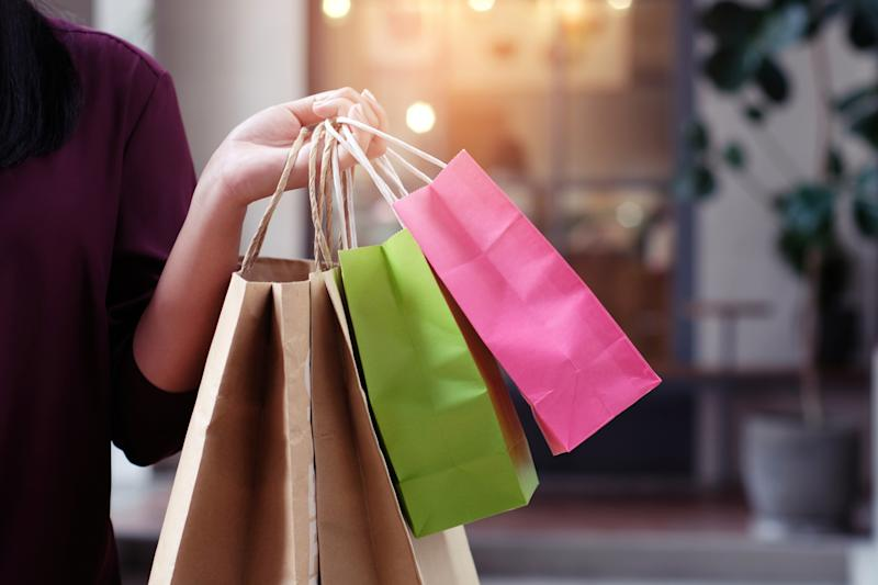 Is a shopping spree justified if it's at an ethical store? Image: Getty