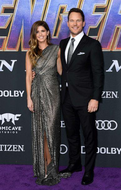 PHOTO:Chris Pratt and Katherine Schwarzenegger arrive for the World premiere of Marvel Studios' 'Avengers: Endgame' at the Los Angeles Convention Center on April 22, 2019 in Los Angeles. (Valerie Macon/AFP/Getty Images)