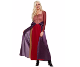 """<p>spirithalloween.com</p><p><strong>$49.99</strong></p><p><a href=""""https://go.redirectingat.com?id=74968X1596630&url=https%3A%2F%2Fwww.spirithalloween.com%2Fproduct%2Fadult-sarah-sanderson-costume-hocus-pocus%2F149014.uts&sref=https%3A%2F%2Fwww.countryliving.com%2Fshopping%2Fnews%2Fg4786%2Fhocus-pocus-costume-collection%2F"""" rel=""""nofollow noopener"""" target=""""_blank"""" data-ylk=""""slk:Shop Now"""" class=""""link rapid-noclick-resp"""">Shop Now</a></p><p>More of a lover than a fighter? We get it—and so does Sarah Sanderson, the youngest (and daffiest) sister. <br></p>"""