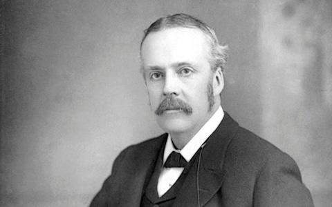 Arthur James Balfour who served as Prime Minister of the Conservative government of 1902-1905 - Credit: Print Collector/Hulton Archive