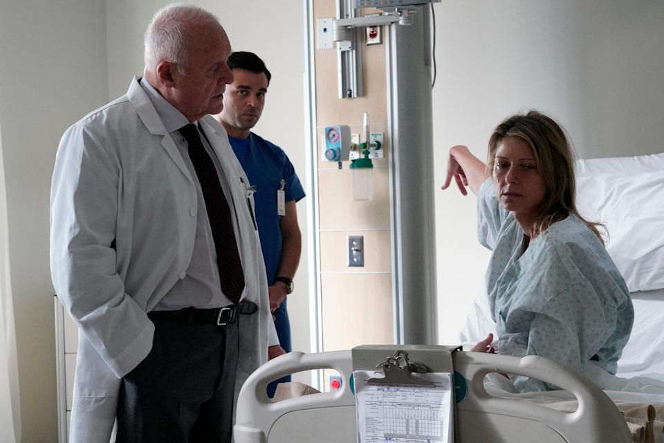 """Lisa Pepper stars as a woman who works her way out of a catatonic state and Anthony Hopkins is her doctor in """"Elyse."""""""
