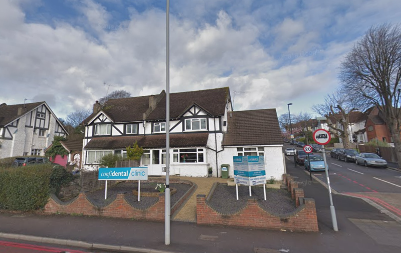 Patel was a dentist at the Confidential Clinics in Purley, Surrey. (Google)