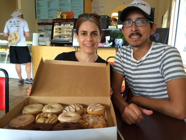 Cathy Ruiz and Jose Rodriguez, worker-owners at Red Rabbit Bakery (Alana Semuels)