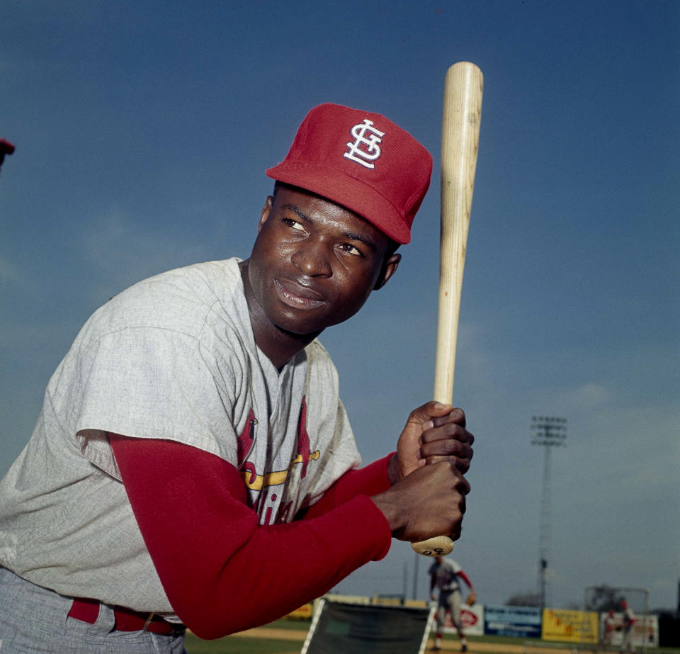 One of baseball's signature leadoff hitters and base stealers, Lou Brock died at age 81 following a series of health complications. Brock helped the Cardinals win three pennants and two World Series titles in the 1960s, and was elected into the Hall of Fame in 1985. At the time of his retirement, he was basball's all-time leader in stolen bases with 938 and is still second on that list.