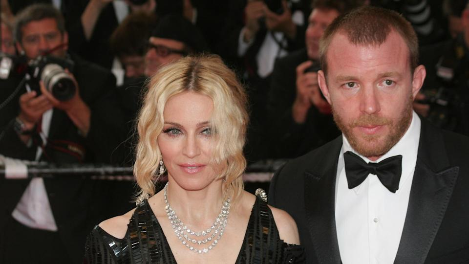 12 of the Most Expensive Celebrity Divorces to Rock Hollywood, 2008 in Cannes, CANNES, FRANCE - MAY 21: Madonna (L) and Guy Ritchie attend the 'Che' pr, France.