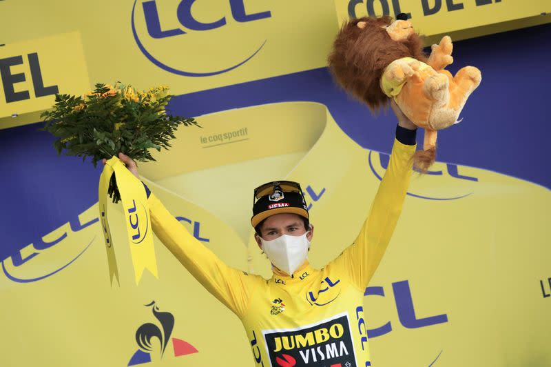Cycling: Roglic in total command after tough mountain stage