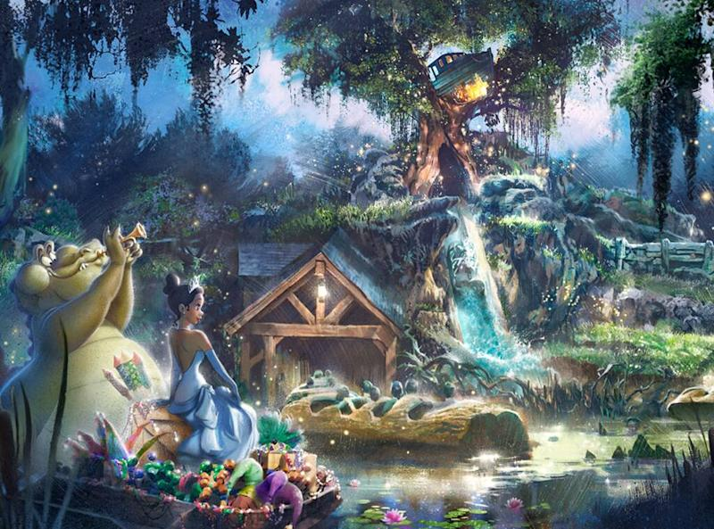 Disney, Splash Mountain, The Princess and the Frog