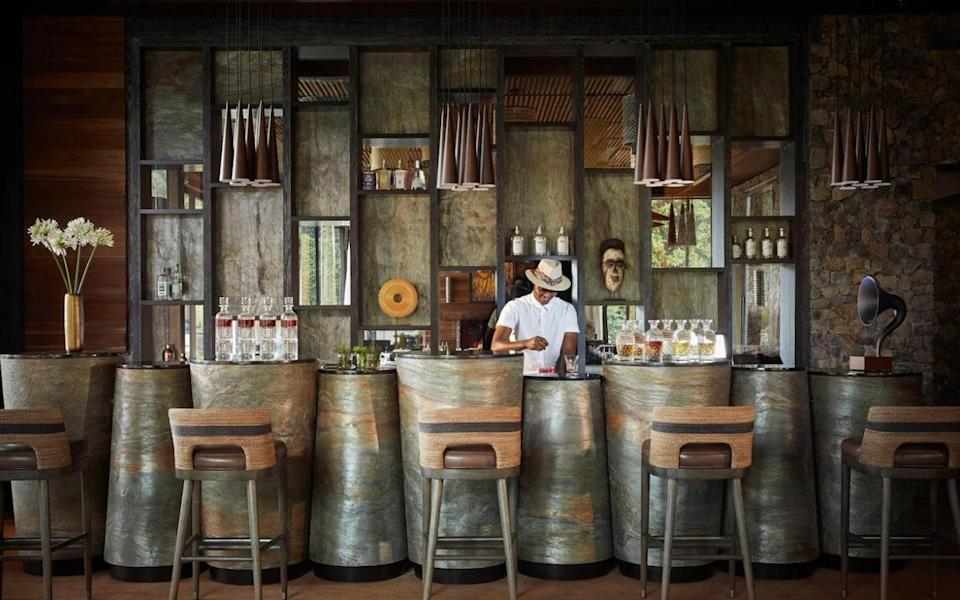 The Nest Bar in Rwanda offer's a place to drink with a difference this year