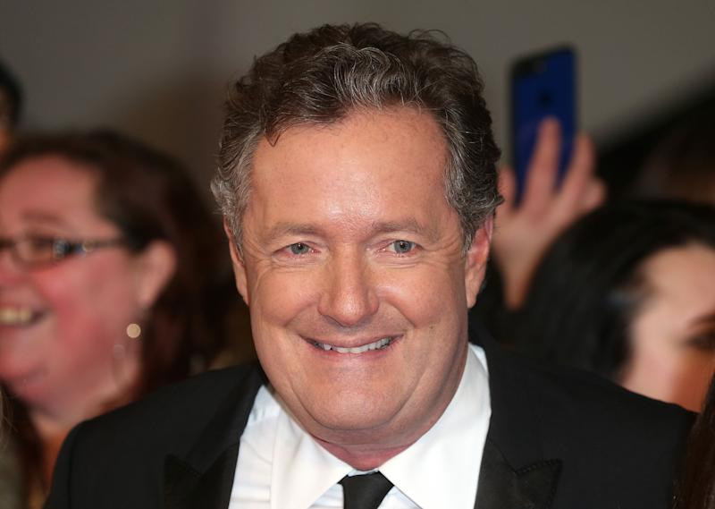 LONDON, ENGLAND - JANUARY 25: Piers Morgan attends the National Television Awards at The O2 Arena on January 25, 2017 in London, England. (Photo by Fred Duval/FilmMagic)