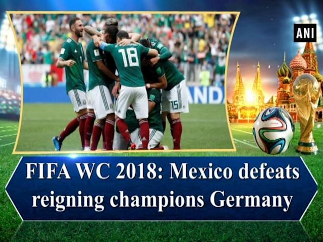 Mexico turned the tables in the Group F match against mighty Germany by defeating them at Luzhniki Stadium by 1-0. Hirving Lozano proved be the star for Mexico who scored a stunning goal (35') in the first half of the match. Solid defense by Mexico made sure to avoid an equalizer by Germany. It was the first time that world champions Germany was defeated in the opening game of the World Cup. Germany will face Sweden next in the group match.