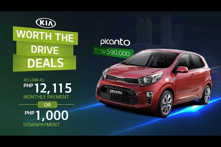 Kia Picanto August 2020 Promo Collateral