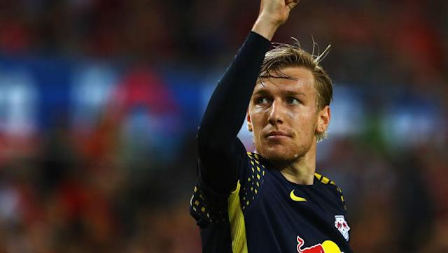 <p>The 25-year-old Swede helped an impressive Leipzig side reach the Champions League last season and was integral in doing so. </p> <br><p>Registering 19 assists in the Bundesliga, there aren't many better like for like replacements for Ozil than Forsebrg. In fact, he had the best goals and assist per minute ratio of any player in Europe's top five leagues last season. </p> <br><p>A winger by trade, Forsberg could easily slot into Wenger's preferred 3-4-2-1 formation as a playmaker operating behind the striker.</p>