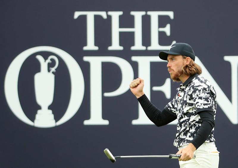 Fleetwood finished second at the 2019 Open, carding -9 to finish six shots behind Shane Lowry