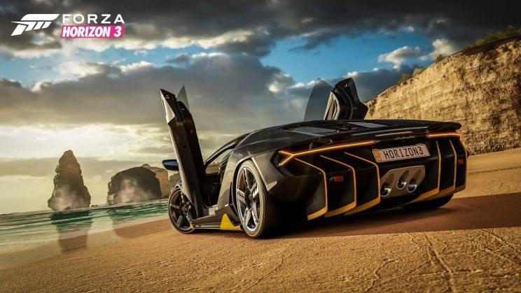 Forza Horizon 3 screenshot.