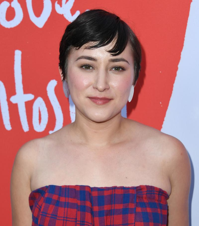 "HOLLYWOOD, CALIFORNIA - JULY 30: Zelda Williams attends the Los Angeles Premiere Of Lurker Productions' ""Love, Antosha"" at ArcLight Cinemas on July 30, 2019 in Hollywood, California. (Photo by Jon Kopaloff/Getty Images,)"