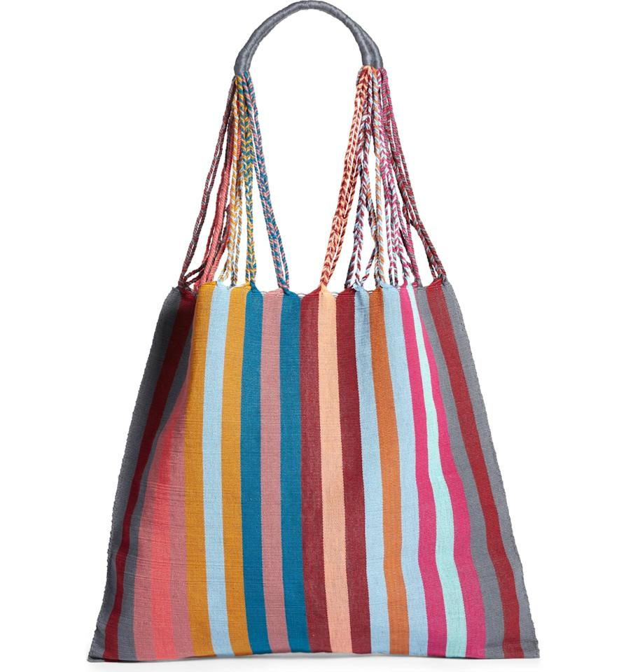 """<p>I was shocked by the affordable price tag on this unique <a rel=""""nofollow"""" href=""""https://www.popsugar.com/buy/Luz-Collection-Greusita-Stripe-Tote-363613?p_name=Luz%20Collection%20Greusita%20Stripe%20Tote&retailer=shop.nordstrom.com&price=46&evar1=fab%3Aus&evar9=45244502&evar98=https%3A%2F%2Fwww.popsugar.com%2Ffashion%2Fphoto-gallery%2F45244502%2Fimage%2F45244505%2FLuz-Collection-Greusita-Stripe-Tote&list1=shopping%2Cfall%20fashion%2Cfall%2Ceditors%20picks%2Ceditors%20picks%2Cluz%20collection&prop13=desktop&pdata=1"""" rel=""""nofollow"""">Luz Collection Greusita Stripe Tote</a> ($46) - the design is so special. I'll use this bag for my commutes to the office.</p>"""