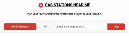 Find Nearest Gas Station >> Find Gas Stations Near You On Oilprice Com