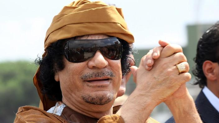The influence of Libya's late leader Muammar Gaddafi can still be felt in the ongoing conflict