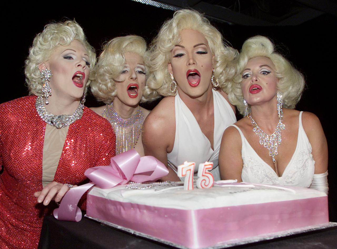 MARILYN MONROE IMPERSONATORS CELEBRATE MOVIE STARS BIRTHDAY IN TORONTO. Andy Clark / Reuters