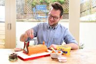 <p>Edd Kimber took home the prestigious winning title of the first ever <em>Great British Bake Off </em>series back in 2010. The Bradford native quit his job as a debt collector for a bank to pursue his baking career fulltime. And he's found relative success, as he's published three cookbooks including 'The Boy Who Bakes' and served as the resident baker on <em>The Alan Titchmarsh Show. </em>He continues to regularly provide recipe and features for various culinary publications and regularly shares what he's up to on his personal blog (theboywhobakes.com).<br>(PA Images) </p>