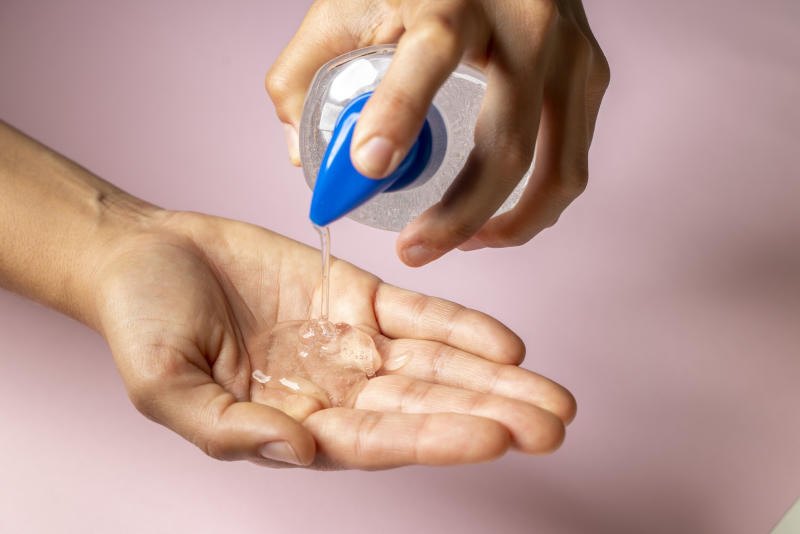 Hand sanitizer just got a lot more accessible. (Credit: Getty)