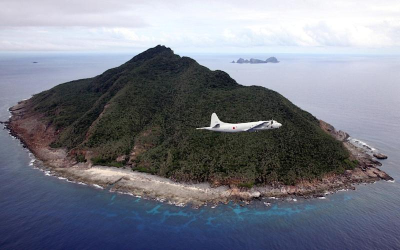 The disputed Senkaku isles in the East China Sea are uninhabited -  JAPAN POOL/AFP