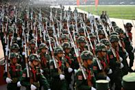 Wa forces dwarf the collage of other ethnic rebel groups operating across Myanmar