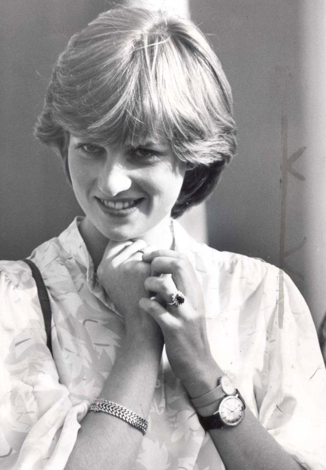 "<p>An old photo of Princess Diana has recently resurfaced, depicting a young Diana watching her then fianceé Charles as he played polo. With her hands clasped, Diana is seen wearing two watches: a large one with a leather strap and a smaller gold one. No, she wasn't a stickler for time — as <a rel=""nofollow"" href=""http://www.marieclaire.co.uk/news/fashion-news/princess-diana-two-watches-529947"">Marie Claire reported</a>, Diana wore Charles's watch as a sort of good-luck tribute to wish him well in the match. </p>"