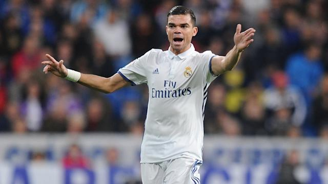 Pepe Real Madrid