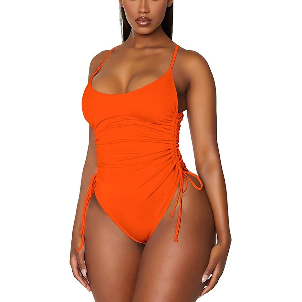 Viottiset ruched swimsuit